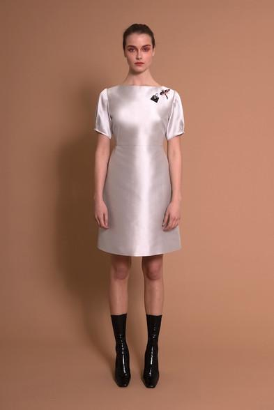 Caroline Kilkenny Sisters Cora Dress Silver