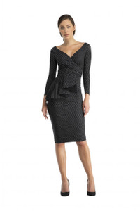 Chiara Boni Ariane Pinstripe Dress