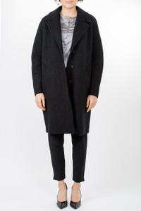 Transit Par Such Black Wool Coat