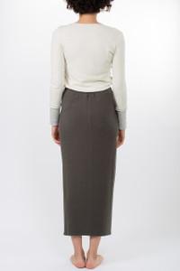 Transit Par Such Anthracite Long Skirt