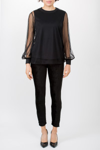Transit Par Such Black Trousers