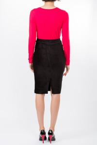 Transit Par Such Pencil Skirt Black