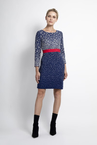 Caroline Kilkenny Blue Molly Dress