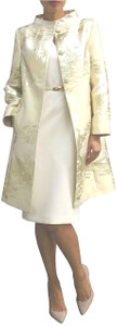 Fee G Vintage Lurex Gold Coat