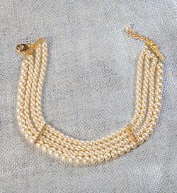 Pat Whyte 4 Strand Ivory Choker Style Neckpiece