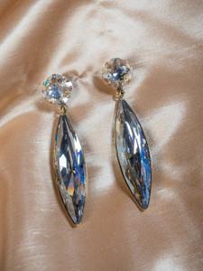 Pat Whyte Crystal Drop Earrings