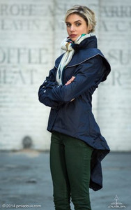 Georgia in Dublin Duplette Jacket Navy