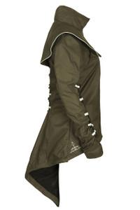 Georgia in Dublin Duplette Jacket Khaki