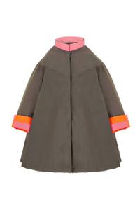 Georgia in Dublin Eppie Child Coat Khaki