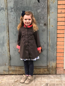 Georgia in Dublin Eppie Child Coat Khaki
