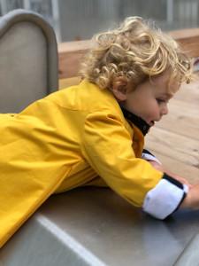 Georgia in Dublin Eppie Child Coat Gold