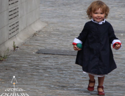 Georgia in Dublin Eppie Child Coat Navy