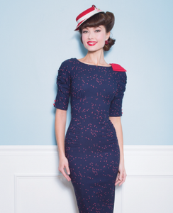 Stop Staring Night Sky Navy Dress