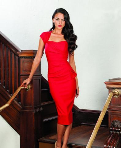 Stop Staring Uma Red Dress