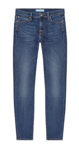 7 FAM Skinny Crop Denim Jeans