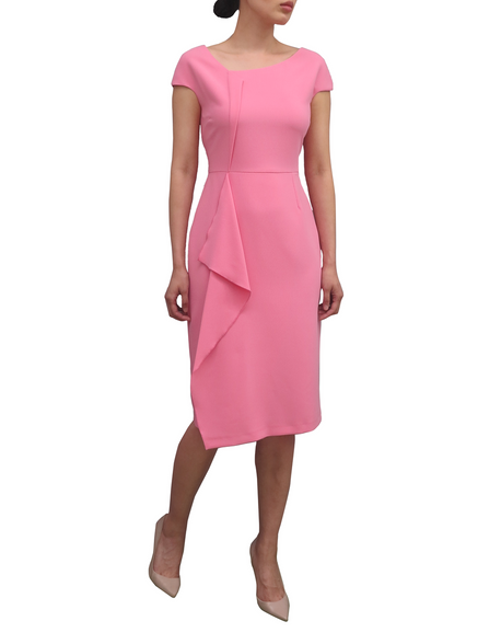 Fee G Drape Front Dress 739545 Pink