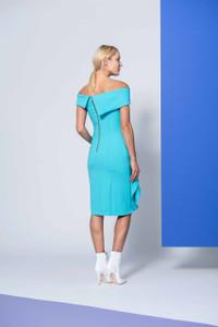 Caroline Kilkenny Turquoise Cruz Dress