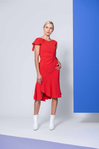 Caroline Kilkenny Red Garcia Dress