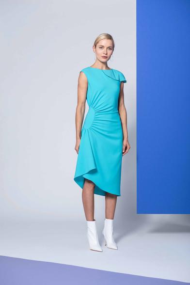 Caroline Kilkenny Turquoise Olivia Dress