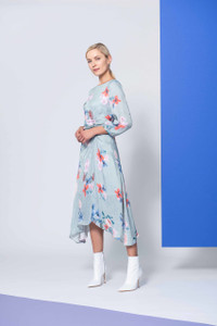 Caroline Kilkenny Mint Flower Torres Dress