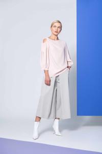 Caroline Kilkenny Silver Bell Trousers