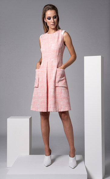 Sisters By CK Pink Foster Dress