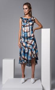 Sisters By CK Flower Print Herrera Dress