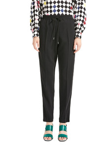 Sportmax Code Mondo Black Long Pants