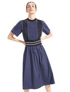 Sportmax Code Valle Navy Dress