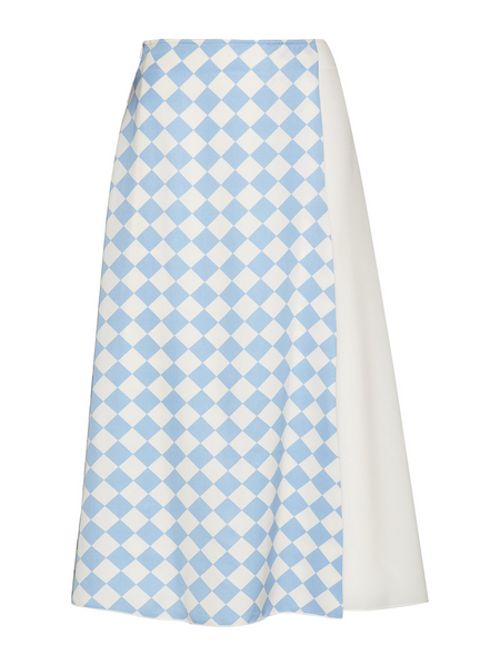 Sportmax Code Cestino Light Blue Skirt