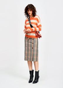 Essentiel Antwerp Spending5 Off White Straight Skirt