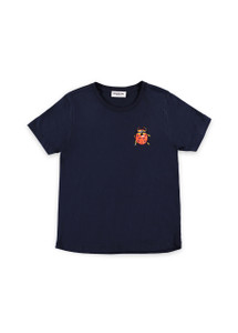 Essential Antwerp Sobeetle1 Sequins Bug Navy Blue T-Shirt