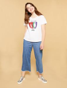 Persona Ilenia Denim Cropped Jeans