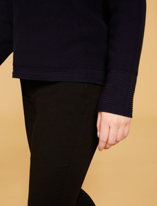 Persona Abissale 1361479 Navy Blue Sweater