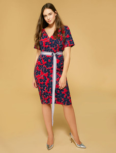 Persona Devon Bordeaux Dress