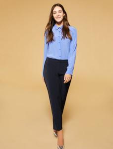 Persona Ravenna 11311590 Navy Blue Long Pants