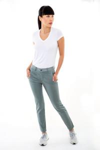 Transit Straight Grey Trousers