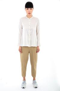 Transit Par Such Ivory Silk Shirt