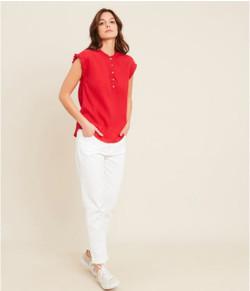 Hartford Cotton Hulule Red Top