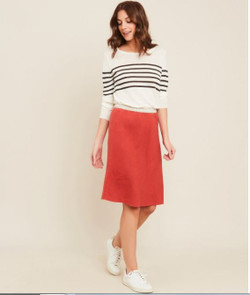 Hartford ARJD604 Judith Orange Skirt