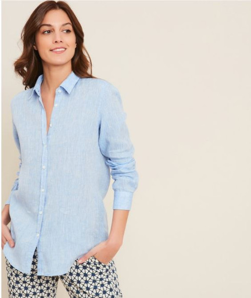 Hartford ARCF634 Carpo Shirt Blue