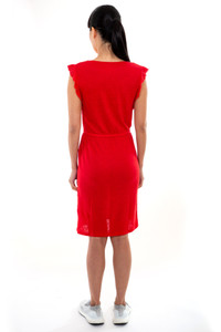 Majestic Filatures Red Dress