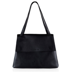 Naledi Copenhagen Alex Black Leather Bag Large