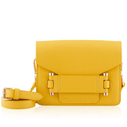 Naledi Copenhagen Jolie Yellow Leather Bag