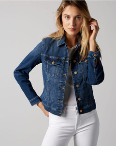 7 For All Mankind Modern Trucker Denim Jacket