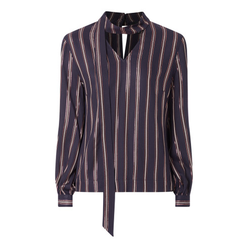Fee G Striped Blouse
