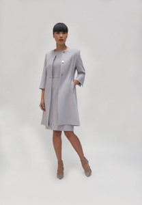 Fee Grey Dress with lurex