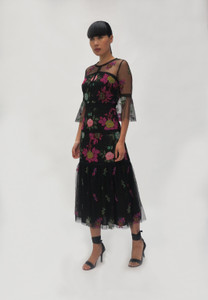Fee G  Black Lace Dress