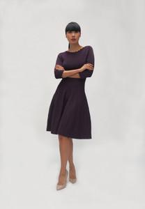 Fee G V702 Plum Dress
