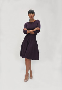 Fee G V702 Plum Dress